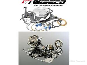 Top & Bottom End Rebuild Kit 2004-2007 Honda CRF250R Crankshaft Piston Gaskets