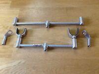 Solar buzzer bars and hockey sticks