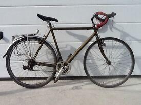 Gents touring/road bike, Reynolds 631, 23 inch frame. SOLD