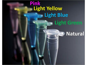 Plastic test vials, sample tubes storage container fragrance, bead color (500)