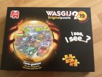 Wasgij 1000 piece jigsaw cone-gestion original number 19