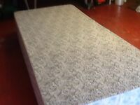 Single bed with mattress. UNUSED