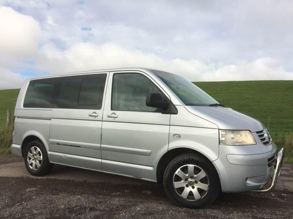 FOR SALE 04 VW MULTIVAN CARAVELLE SE Tdi T5 2 5 like California Transporter  Camper van T4 Westfalia | in Rossendale, Lancashire | Gumtree