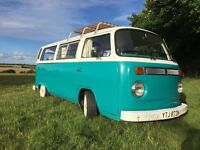 VW CAMPER T2 BAY WINDOW 1974 (TAX EXEMPT)