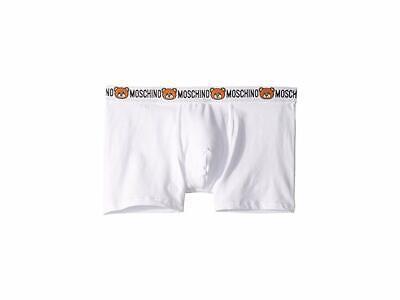 Moschino Men's White Underbear Boxer Brief Underwear 4513 Size XL