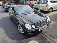 mercedes e320 avangarde 53plate 19''alloys tinted glass just SERVICED