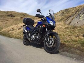 Suzuki V-Strom 650 2013 Low mileage with panniers and top box