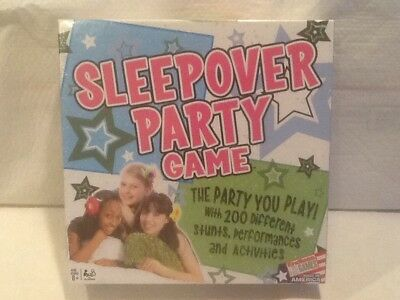 The Sleepover Party Game Endless Games NEW 200 activities Slumber Party](Sleepover Party)