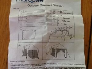 Outdoor gazebo - Marquee brand - used once - is in top condition Yokine Stirling Area Preview