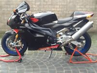 Aprilia RSV factory black one owner from new 4439 miles