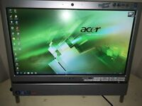 Acer aspire z5700 touch screen desk top