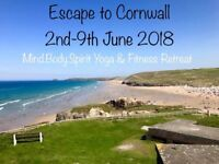 Mind Body Spirit Yoga & Fitness Retreat Cornwall 2nd June