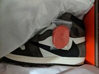 bdee8f6b6a7 Nike Air Jordan 1 Travis Scott Cactus Jack UK Size 14 Brand new