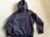 Boys hoodie , navy age 10, Next