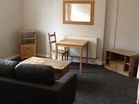 ATTRACTIVE SPACIOUS SELF CONTAINED STUDIO FLAT RECENTLY REFURBISHED POST CODE B16 0EN NO AGENT FEES