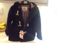 Duffle coat navy Paddington bear