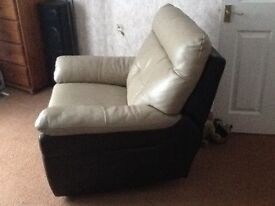 Electric reclining armchair. Little used and in excellent condition.