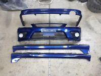 Lexus is200/Toyota altezza full genuine plastic trd lip kit and trd front bumper.