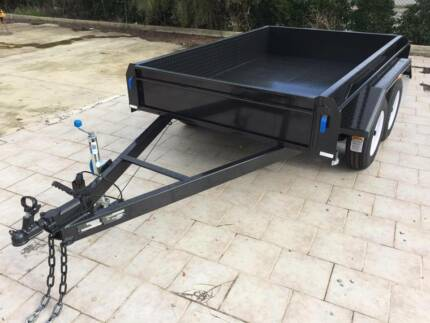 10x6 Tandem Rolled Body Trailer 350 sides (Australian Made) Adelaide Region Preview