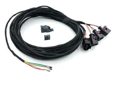 Cable Loom Pdc Parking Sensor Rear Vw T5 Bus to 9/09 Multivan Cable Set