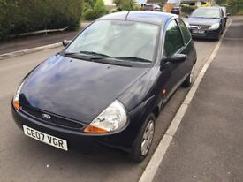 Ford KA Navy Blue