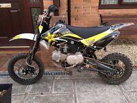 Wpb 140cc pit bike stomp