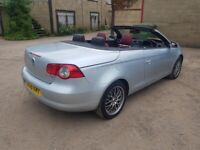 Used, Vw eos top spec convertible full history full leather satnav full glass roof full mot for sale  Wallingford, Oxfordshire
