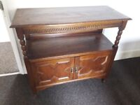 Lovely old charm oak sideboard, ideal for restoration or painting. £45 Redcar Ings