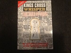 BOOK- KINGS CROSS WHISPERER: THE WAY IT WAS North Sydney North Sydney Area Preview