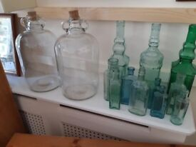 Antique glass retro rare Collectable bottles medicine