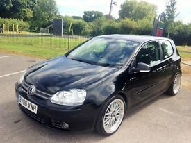 For sale 2.0 Golf GT TDI 123000 miles good condition BBS LM style Alloys £3350.