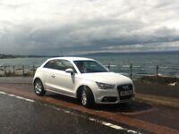 White Audi A1 1.2