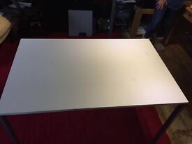 IKEA white desk tables