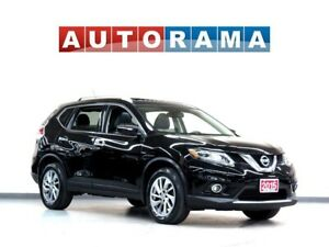2015 Nissan Rogue SL LEATHER NAVI PAN SUNROOF BACK UP CAM AWD