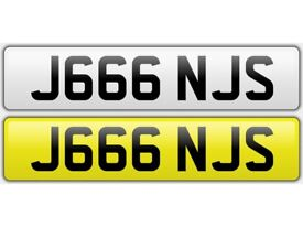 Cherished Plate - J666 NJS On retention and ready to go