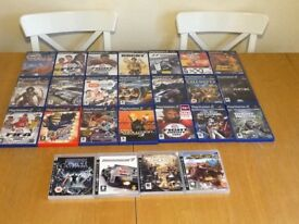Assortment of PlayStation 2 & 3 games