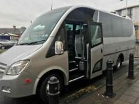 16 Seater Minibus & Exec Minicoach Hire Services From Reading & Wokingham To Anywhere-ABC TRAVEL