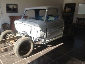 1968 f100 short box project