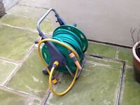Hozelock Hose Reel with approx 25m Hose