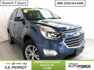 2016 CHEVROLET EQUINOX AWD LT, TOIT OUVRANT,  BLUETOOTH, CAMERA