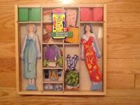 Melissa and Doug Deluxe Magnetic Dress Up