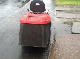 For sale or swap ride on lawnmower.