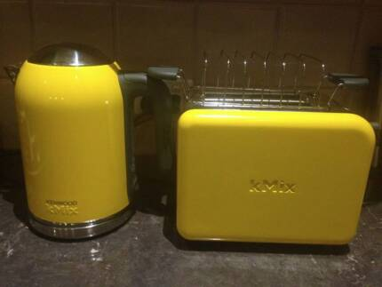 Kenwood Yellow Kettle and Toaster Sunnybank Hills Brisbane South West Preview
