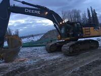 Experienced excavator operator .