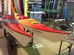 Two 4.8M Kakadu Sit inside touring Kayaks Svensson Heights Bundaberg City Preview