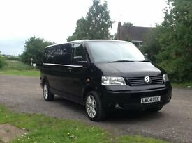 Black 2004 volkswagon transporter (price drop), day van, conversion, surf van, race van
