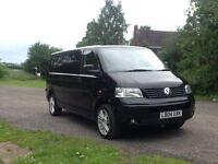 Black 2004 volkswagon transporter (price drop), day van, conversion, surf van, race van