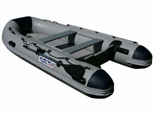 SURFSEA 3.3m Inflatable Boat with Air Floor - includes wear strips on bottom