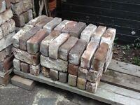 Reclaimed Stock Mixture red bricks