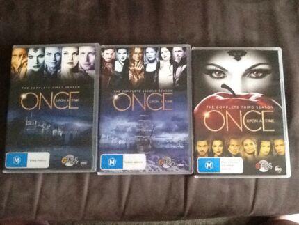Once upon a time season 1-3